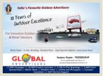 Outdoor Media Banners Through Billboards for Banks At Worli