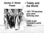 Section 4: World Power