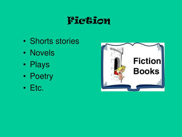 fiction n.