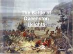 The Battle of Queenston Heights