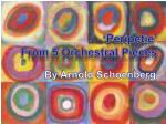 ' Peripetie ' From 5 Orchestral Pieces