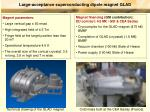 Large-acceptance superconducting dipole magnet GLAD