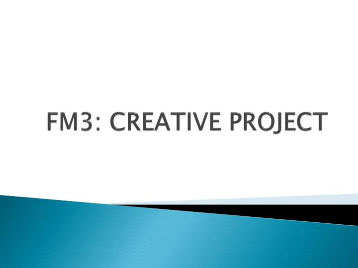 fm3 creative project n.