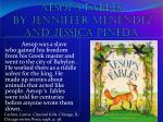 AESOP'S FABLES BY JENNIFFER MENENDEZ AND JESSICA PINEDA