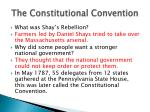 The Constitutional Convention