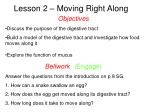 Lesson 2 – Moving Right Along