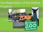 Zoo Regulations of the United Kingdom