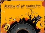 Review of AP Concepts