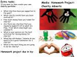 Homework project due in by :