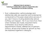 Fostering A Collaborative Culture to Support Educator Development and Student Learning