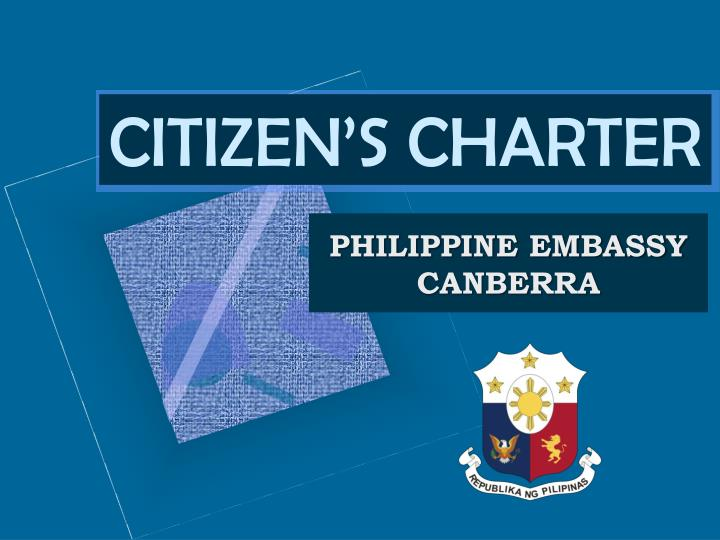 citizen s charter n.