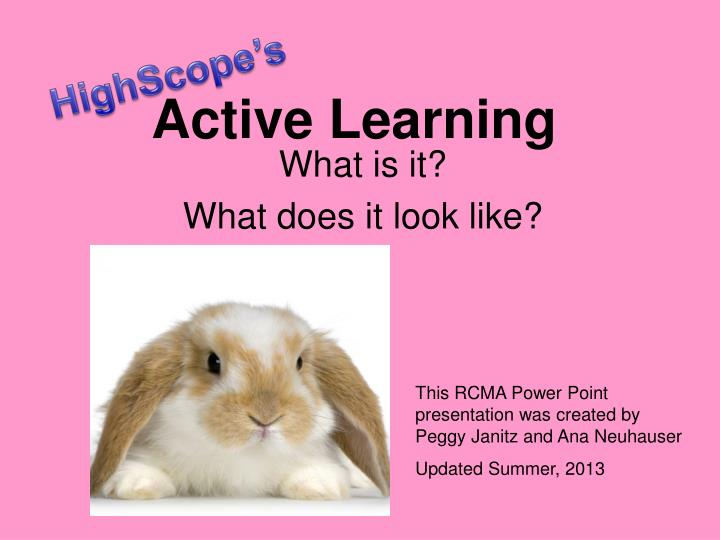 active learning n.
