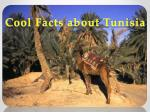Cool Facts about Tunisia