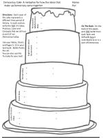 Democracy Cake- A metaphor for how the ideas thatName: make up Democracy came togetherPer: