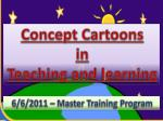 Concept Cartoons  in  Teaching and learning