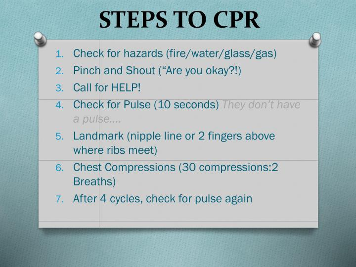 steps to cpr n.