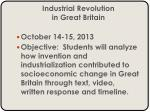 Industrial Revolution in Great Britain