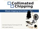 Wood chipping technology