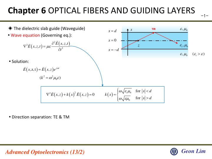 chapter 6 optical fibers and guiding layers n.