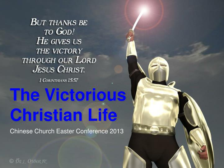 the victorious christian life n.