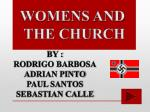 WOMENS AND THE CHURCH