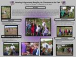 Growing in Agronomy: Bringing the Classroom to the Field