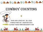 Cowboy Counting