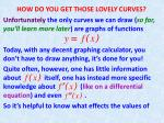 HOW DO YOU GET THOSE LOVELY CURVES?