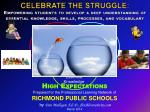 Prepared for the Professional Learning Network of RICHMOND PUBLIC SCHOOLS