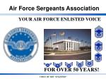 YOUR AIR FORCE ENLISTED VOICE