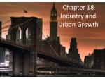 Chapter 18 Industry and Urban Growth