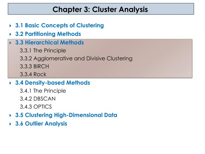 chapter 3 cluster analysis n.