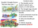 "Doodle 4 Google theme: ""My best day ever..."""