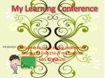 My Learning Conference