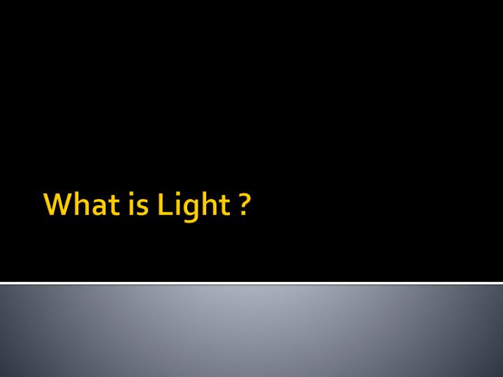 what is light n.