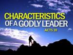 A Godly Leader Serves with Humility and Tears