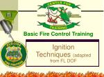 Basic Fire Control Training