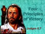 Four Principles of Victory