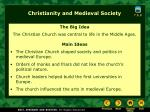 Christianity and Medieval Society