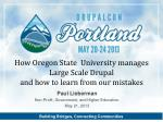 Paul Lieberman Non-Profit, Government, and Higher Education. May 21, 2013