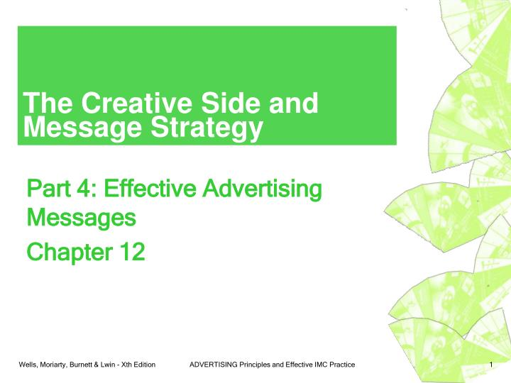 the creative side and message strategy n.