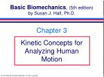 Basic Biomechanics , (5th edition) by Susan J. Hall, Ph.D.