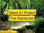 Talent 21 Project