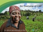 Eco-Efficient Agriculture for the Poor