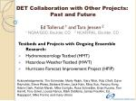 Testbeds and Projects with Ongoing Ensemble Research: Hydrometeorology Testbed (HMT)