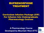 A Pharmacology Course Developed by Mountain West ATTC
