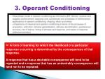 3. Operant Conditioning