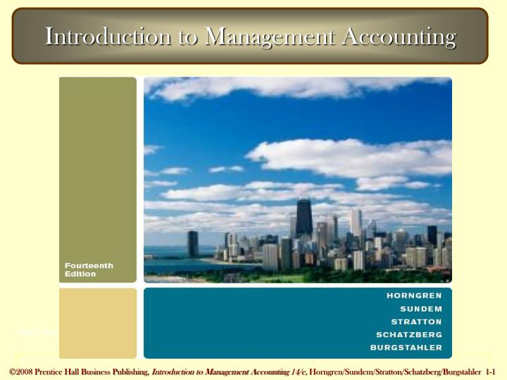 introduction to management accounting n.