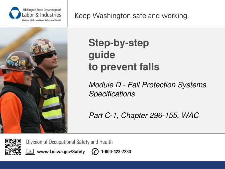 step by step guide to prevent falls n.
