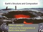 Earth's Structure and Composition